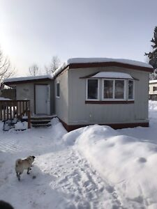 Three bedroom mobile home for rent in La Ronge