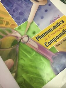 Applied Pharmaceutics in Contemporary Compounding