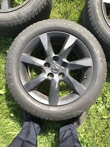 Acura TL mags with summer tires 600nego