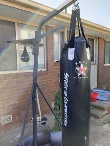 Boxing Bag Setup!