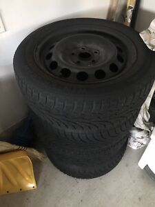 205/55 R16 Winter Tires with RIMS