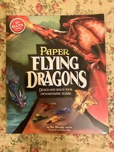 Paper Flying Dragons Book with Templates