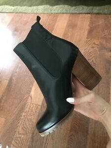 COACH HEELED CHELSEA BOOTS