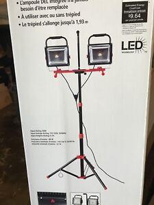 6000 lumen led work light  brand new
