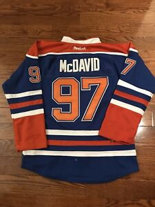 Connor McDavid Youth Jersey Size Youth L/XL