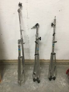 Ludwig Blue Olive Cymbal Stands