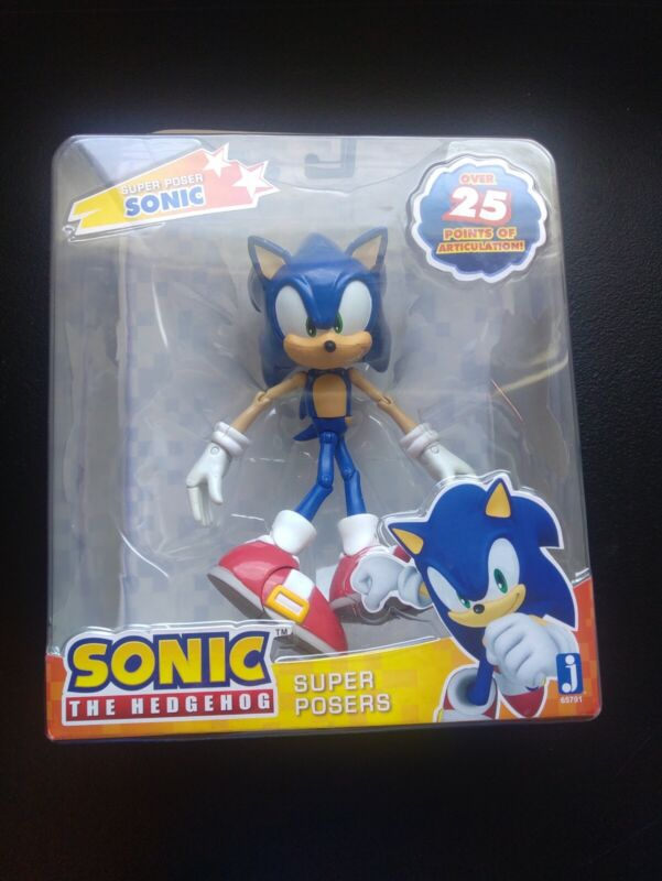 "Sonic 20Th Anniversary 6"" Super Poser Figure Sonic Factory Sealed!!!"
