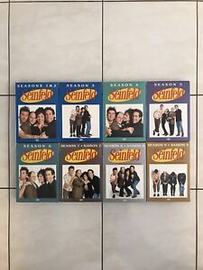 SEINFELD COMPLETE SERIES ON DVD