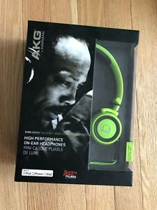 AKG headphones sealed box
