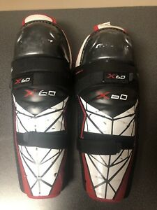 12 inch Bauer Vapor Shin Guards X60