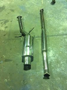 Evo 7-9 3' exhaust HKS silent Hipower Malaga Swan Area Preview