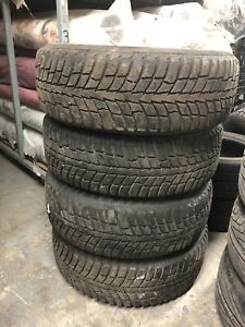 225 60 16 Tires on Mags