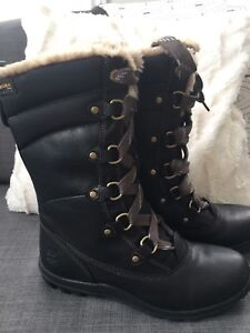 Woman's Timberland Waterproof Leather Boots