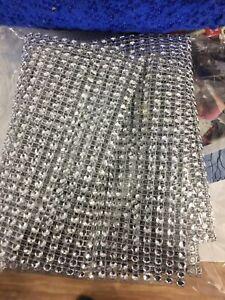Rhinestone bling mesh