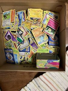Box full of pokemon cards