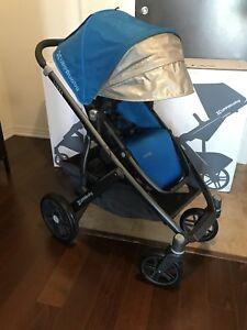 UPPAbaby VISTA stroller & bassinet LIKE NEW