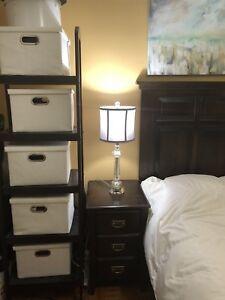 Handmade Solid Wood Bedroom Set-Queen