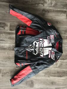 Icon victory leather motorcycle jacket