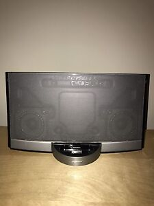 Bose Sounddock with Bluetooth adapter