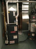 Furnace service/inspection with combustion analysis