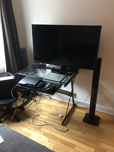Complete package television + extras