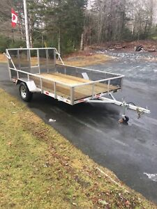 "Brand New Aluminum Trailer 6' 7"" x 12'"