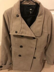 Women brand new and Eeuc winter jackets coat leather wool
