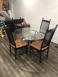 Art Shoppe Table and Decorium Chairs - $500 obo