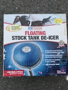 Floating Stock Tank De-Icer