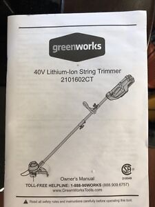 Battery operated grass trimmer
