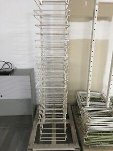 Door drying rack
