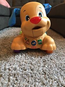Fisher Price Learn to Walk Puppy