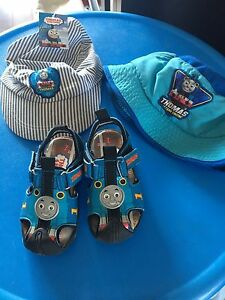 Thomas the Train hats & sandals