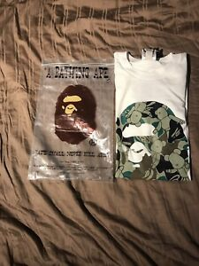 Bape Ape Head Medicom Toy Bear Tee