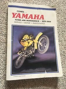Clymer Shop Manual for YZ 100-490 1976-1984