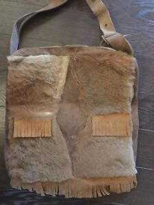 Genuine kangaroo medium fur bag : made in Australia