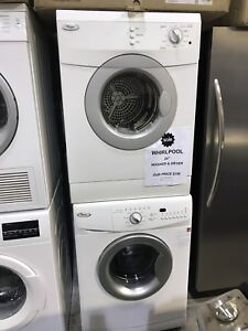 Whirlpool washer dryer combo