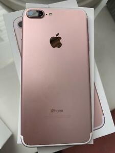 Unlocked iPhone 7 Plus 128 GB with apple care