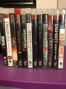 Ps3 games collection