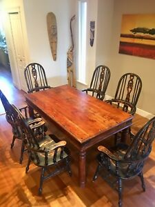 Fabulous Deal! Solid wood dining room set