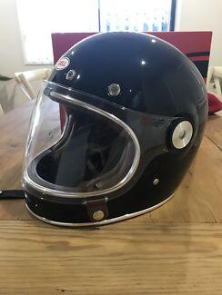 Bell Bullitt Motorcycle Helmet Gloss Black L Size