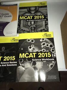 MCAT box set The Princeton Review
