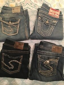 True Religion and Silver Jeans