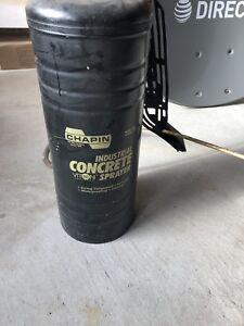 concrete spraying pump