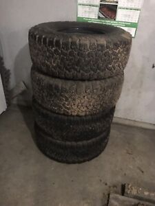 35 x 12.50 x 17 BFG  KO2 trade for 37s for a 17 or 20 rim