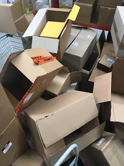 Carboard boxes - perfect for moving
