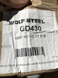 Wolf Steel Vent Pipe Fireplace Venting