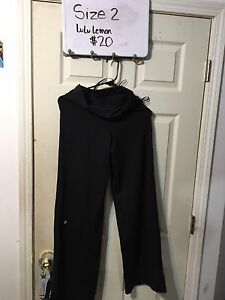 Lulu lemon pants size 2