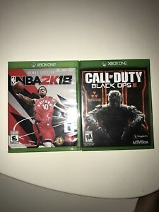 NBA 2K18 AND CALL OF DUTY BLACK OPS 3