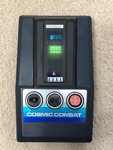Rare Cosmic Combat Handheld Game